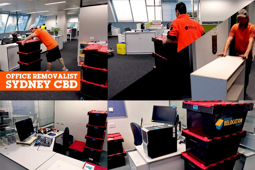 Office Removalist Sydney CBD